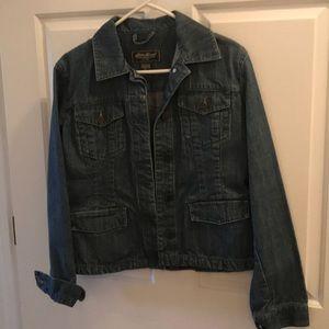 Eddie Bauer jean jacket